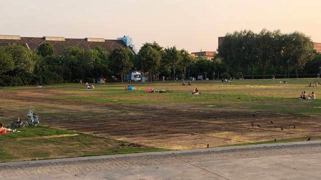 Techfestival krijgt rekening na beschadigen grasmat Westerpark