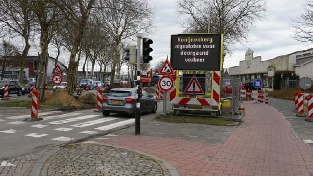 Kruispunt Speelhuislaan Breda blijft tot 20 april dicht