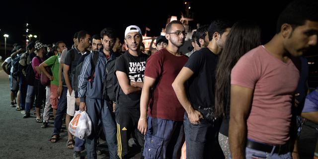 Marine Italië pikt ruim vierduizend migranten op
