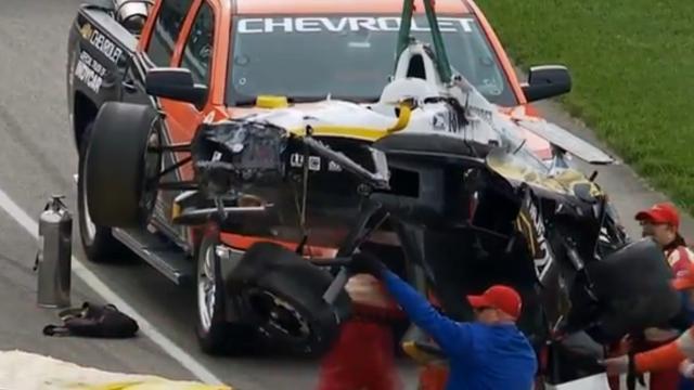 Opnieuw crash tijdens de voorbereiding op Indy 500