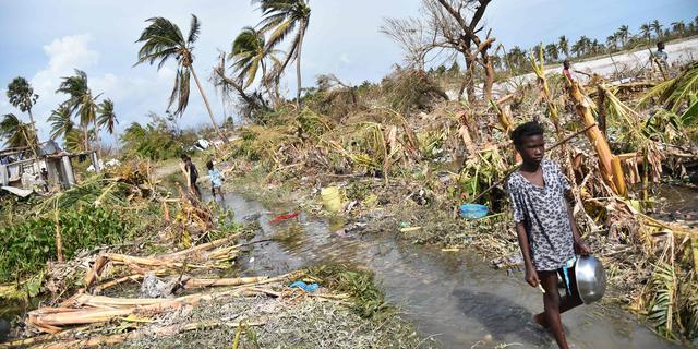 VN vraagt 100 miljoen euro voor Haïti na orkaan Matthew