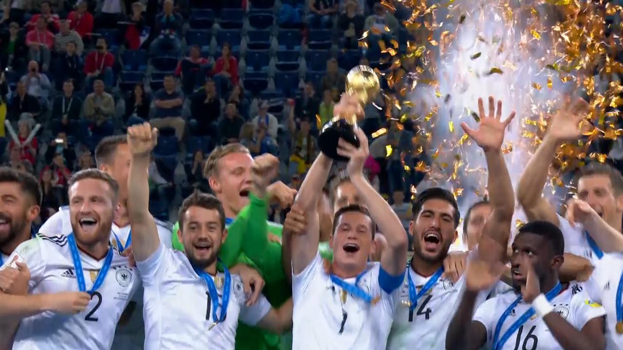 Duitsland wint voor eerste keer Confederations Cup