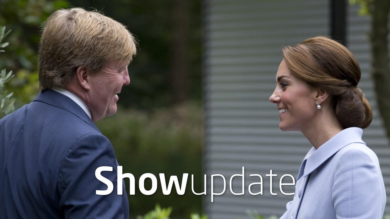 Show Update: Kate Middleton bezoekt koning Willem-Alexander