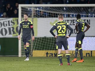 Eindhovenaren verliezen in Tilburg met 5-0
