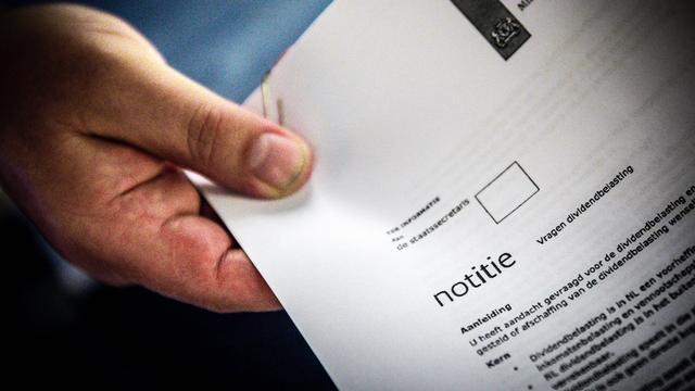 Rabobank: 'Schaf de dividendbelasting niet af'