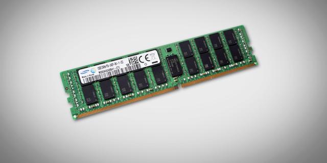 Samsung start productie chip met 128 GB werkgeheugen