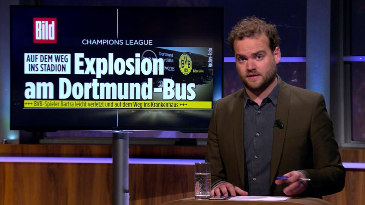'Explosie bij spelersbus van Borussia Dortmund'