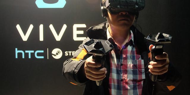 HTC start eigen bedrijf voor VR-bril Vive