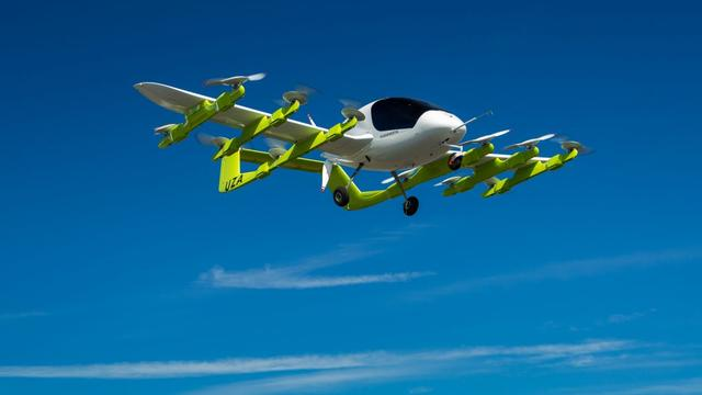 Vliegende taxi Cora van Google-oprichter onthuld