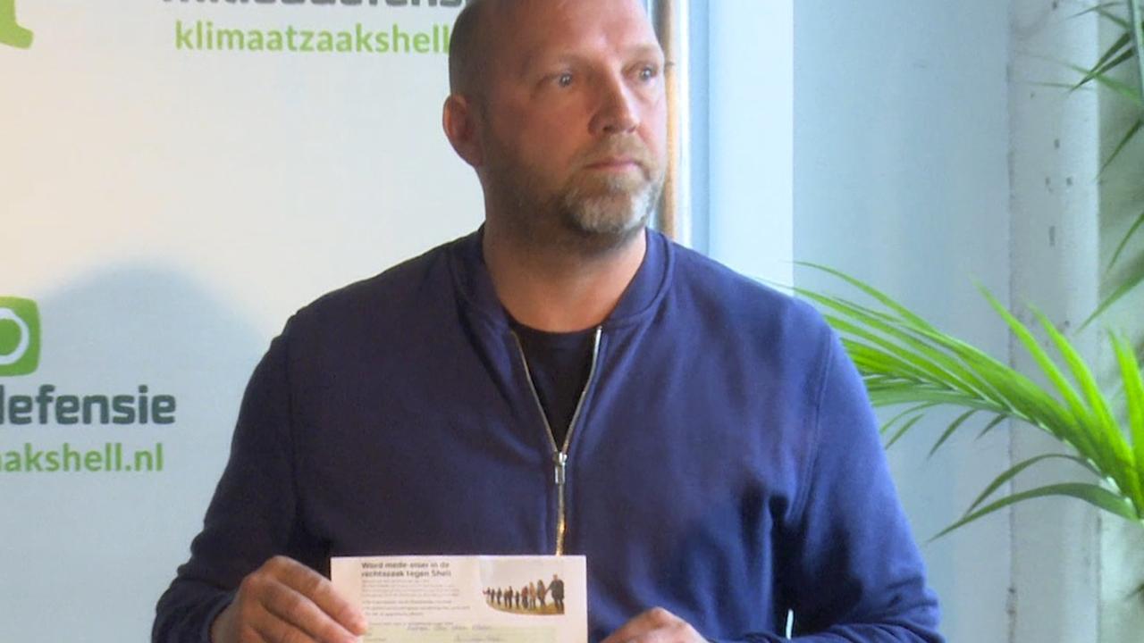 Ruben van der Meer zet handtekening onder zaak tegen Shell