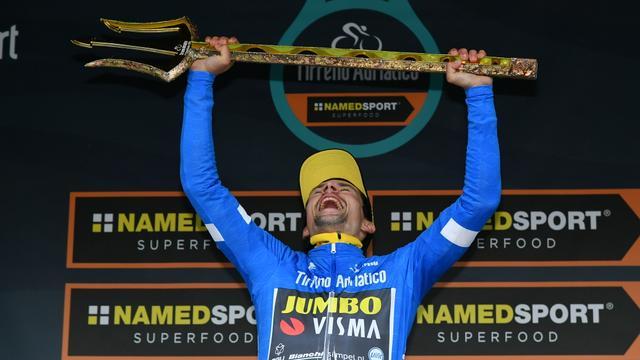 Roglic wint Tirreno-Adriatico op 1 seconde, Dumoulin zevende in tijdrit