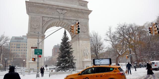 New York en andere steden oostkust VS bereiden zich voor op sneeuwstorm