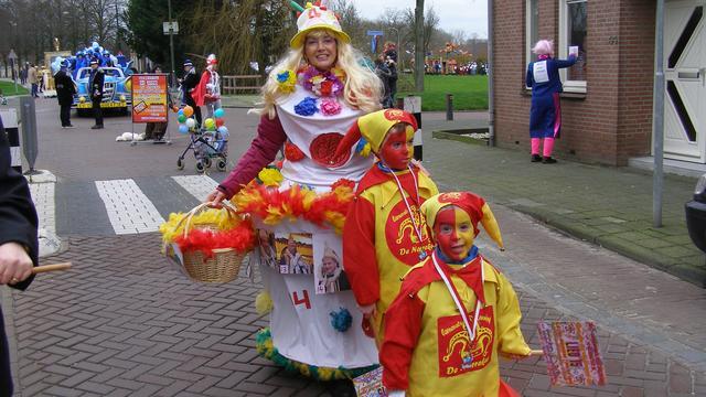 Klundert kijkt terug tijdens carnaval