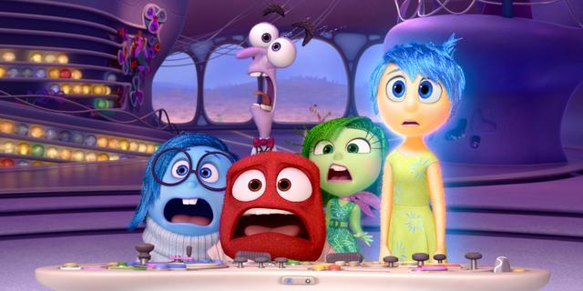 Inside Out wint prijs voor beste animatiefilm