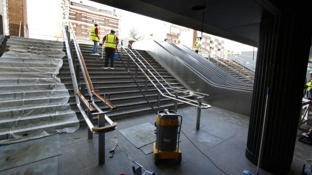 Stationstunnel zeker open vrijdagochtend