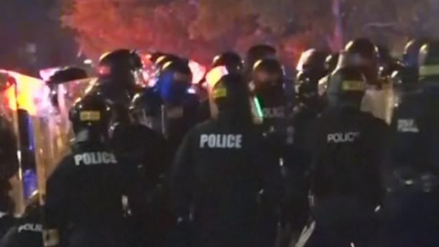 Politie pakt demonstranten op in Amerikaanse stad St. Louis