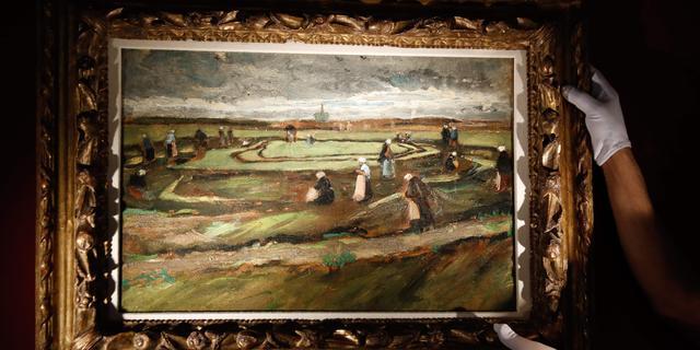Vroeg schilderij Van Gogh brengt ruim 7 miljoen euro op