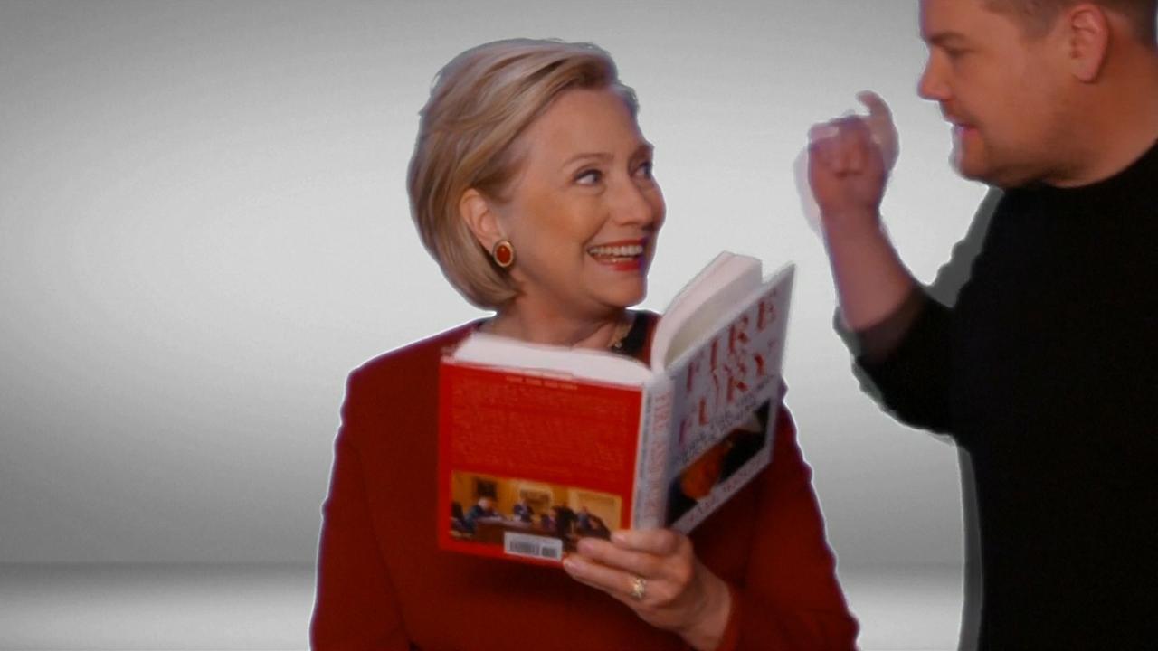 Hillary Clinton 'wint' Grammy voor voorlezen uit boek over Trump