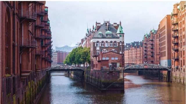 Havensteden met speciale architectuur