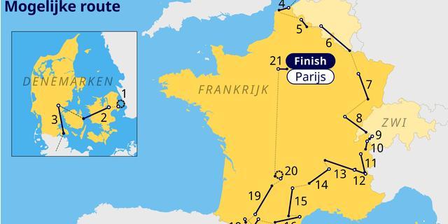Alpe d'Huez, gravelfinish en Bos van Wallers: wordt dit het Tour-parcours 2022?