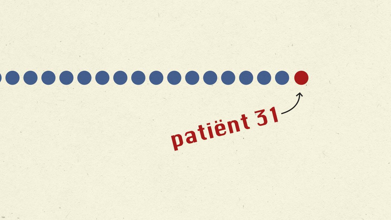 Hoe social distancing ons helpt tegen verspreiders als 'patiënt 31'