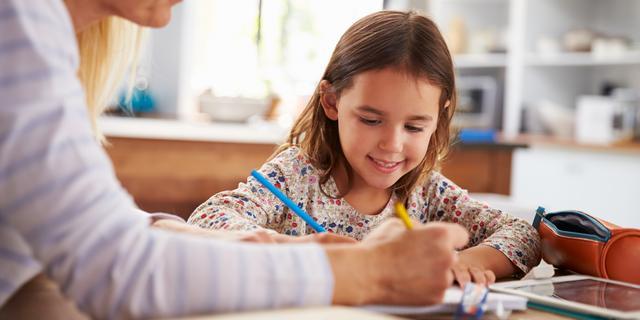 Thuis lesgeven: kies een vaste plek en verdeel de dag in blokken