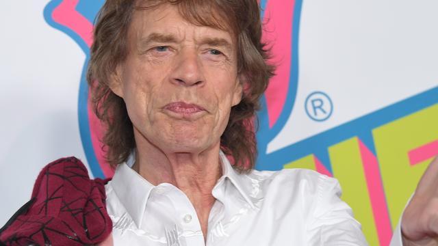 Mick Jagger maakt rondvaart in Amsterdam
