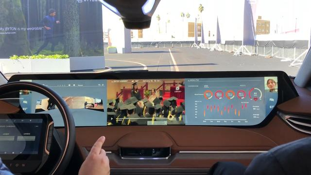 Zo ziet de 'smartphone-auto' Byton er van binnen uit