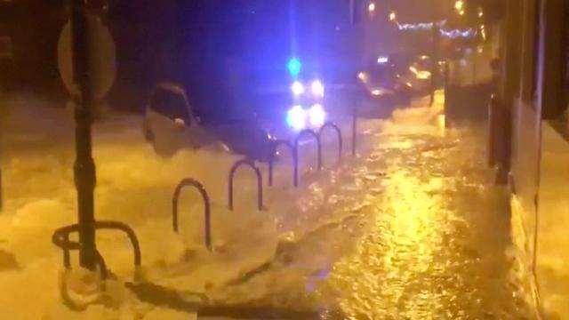 Compilatie: Storm raast over Europa