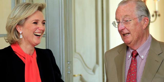 Belgische prinses Astrid heeft haar ruggenwervel gebroken