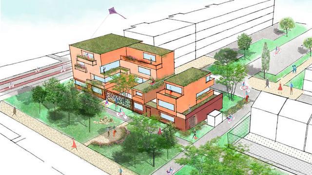 Gemeente zoekt mensen die huis willen bouwen op Stockholmstraat