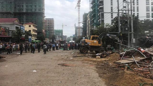 Zeven doden en 21 gewonden nadat flatgebouw in Cambodja instort
