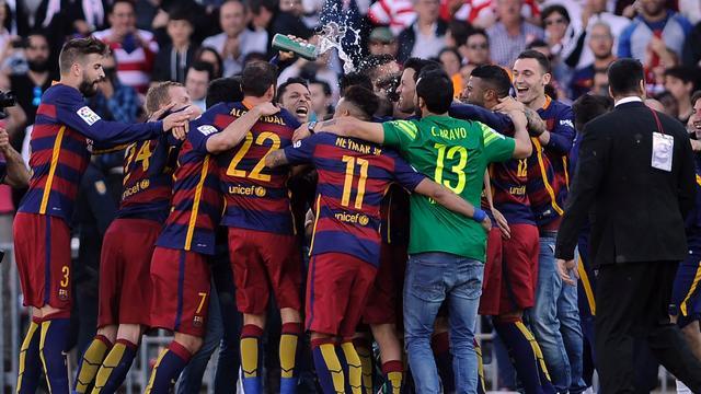 FC Barcelona voor 24e keer kampioen van Spanje