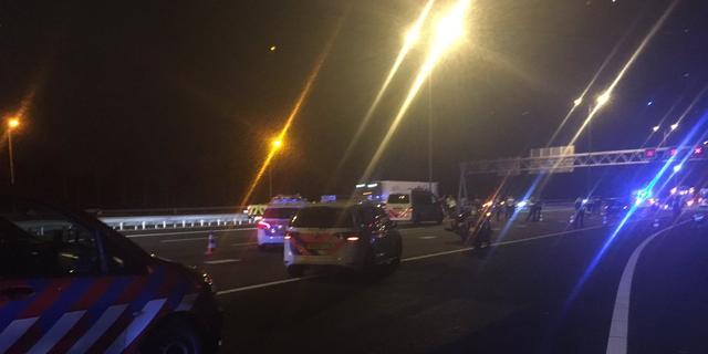 Twee personen overleden na zwaar verkeersongeluk op A9 bij Aalsmeer