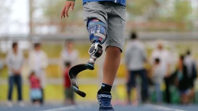 Japanse 'sportbibliotheek' verhuurt protheses aan kinderen zonder been
