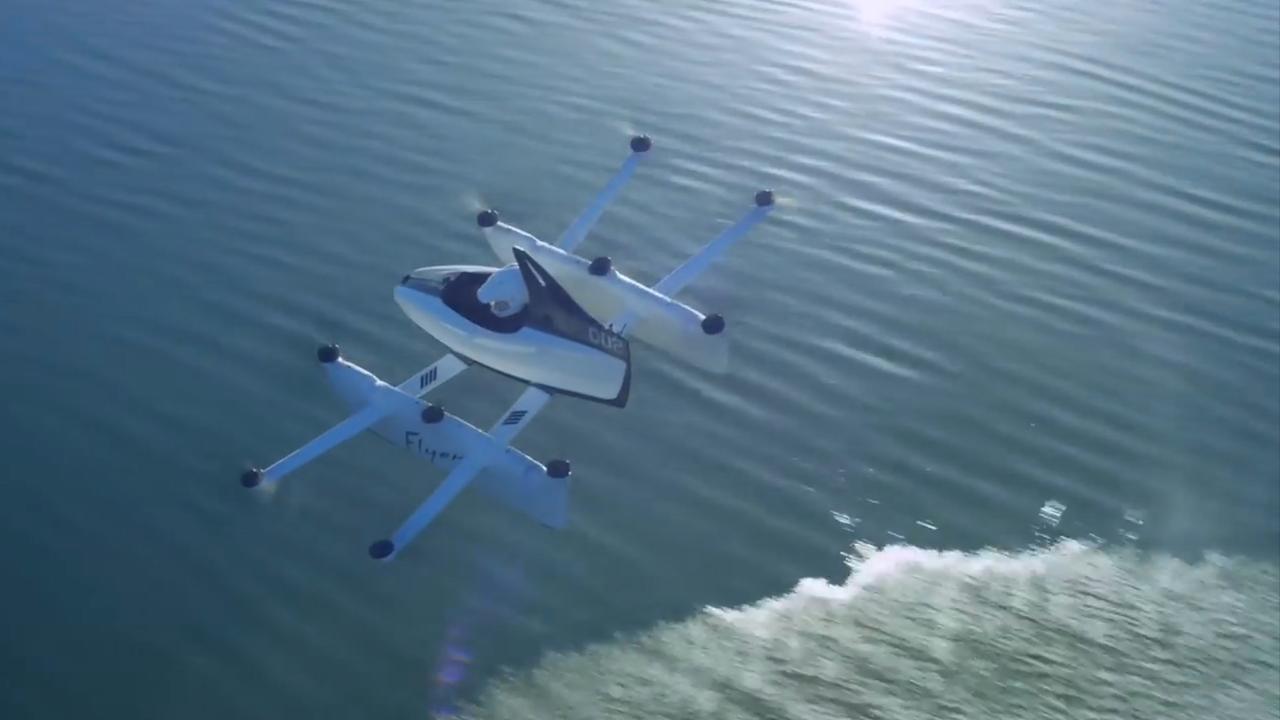 Google-oprichter presenteert droneachtig vliegtuigje