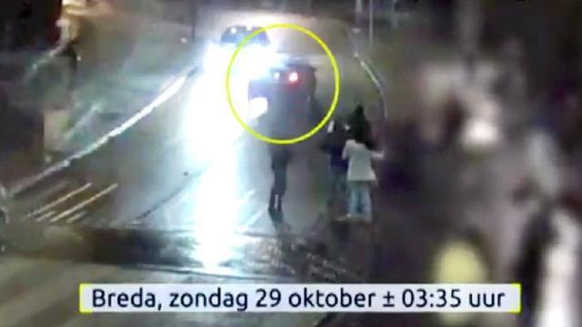Heftige beelden aanrijding Breda in Opsporing Verzocht