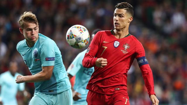 De Ligt 'schrikt' van verzoek Ronaldo om naar Juventus te komen