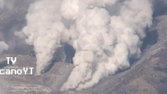 Japanse vulkaan voor het eerst in 250 jaar uitgebarsten