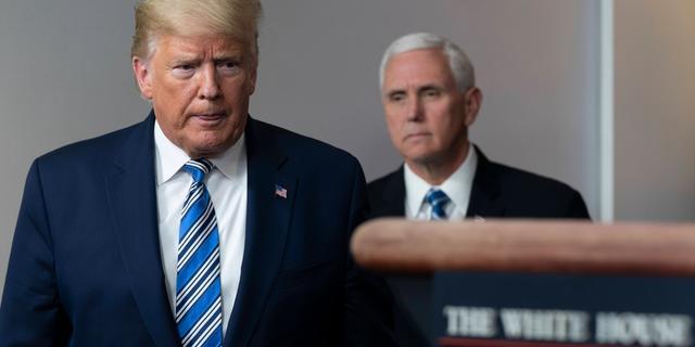 Trump wil dat Amerikaanse economie weer volop draait 'rond Pasen'