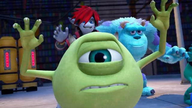 RPG-spel Kingdom Hearts III krijgt Monsters Inc.-wereld