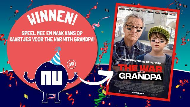 Win kaartjes voor de film The War with Grandpa
