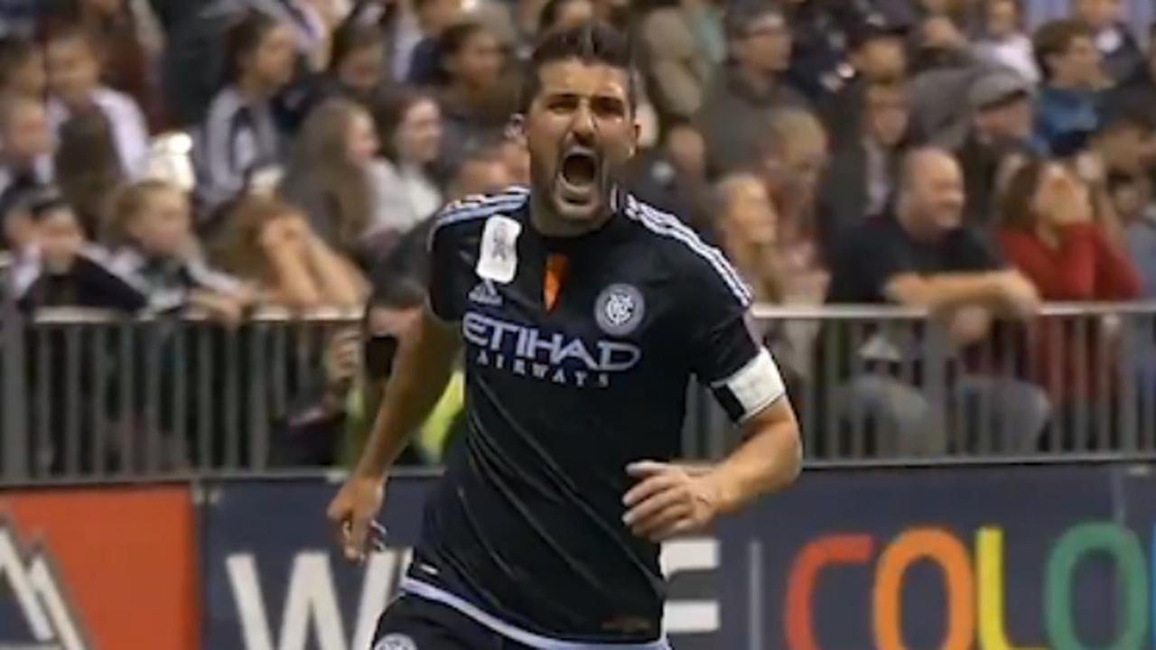 New York City FC eert afzwaaiende Villa met video van al zijn goals
