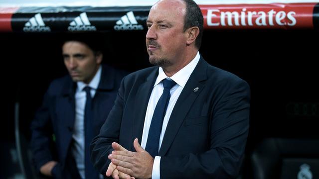 Benitez blij met openlijke steun van Real Madrid