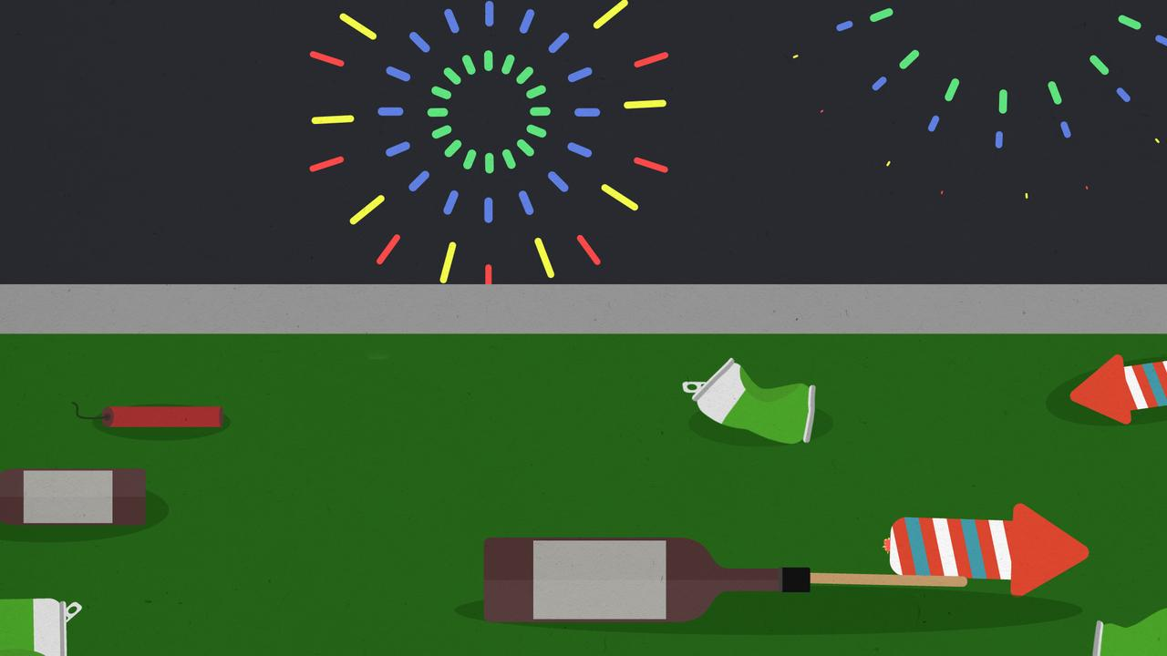 Was 2019 het laatste jaar waarin je al je vuurwerk mocht afsteken?