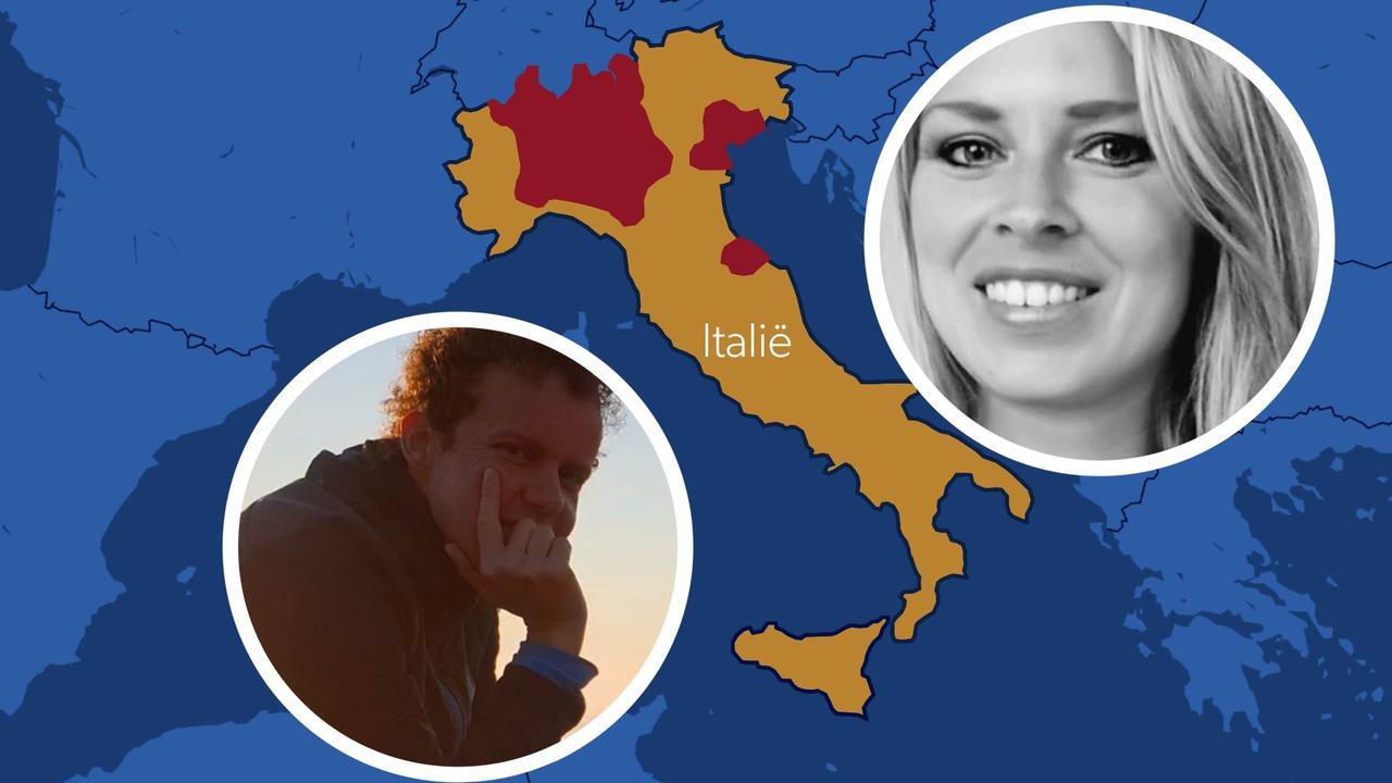 Nederlanders in gesloten Italië: 'Alleen met formulier de straat op'