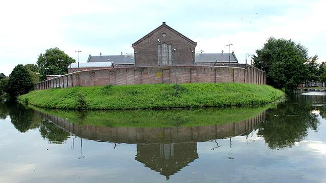 Inbraak in voormalige gevangenis Wolvenplein