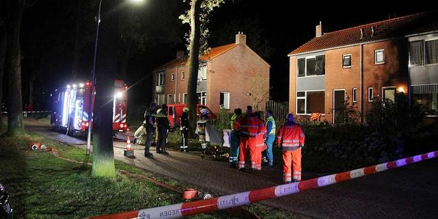 Dode bij woningbrand in Drentse Norg