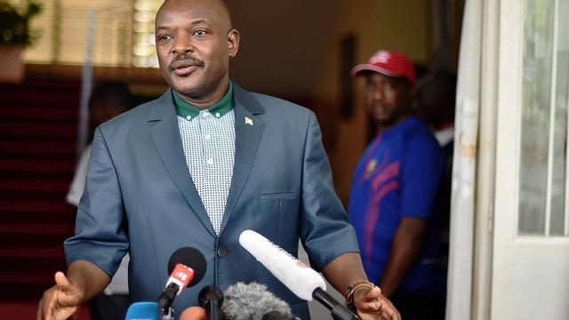 Zittende president Pierre Nkurunziza wint verkiezingen in Burundi