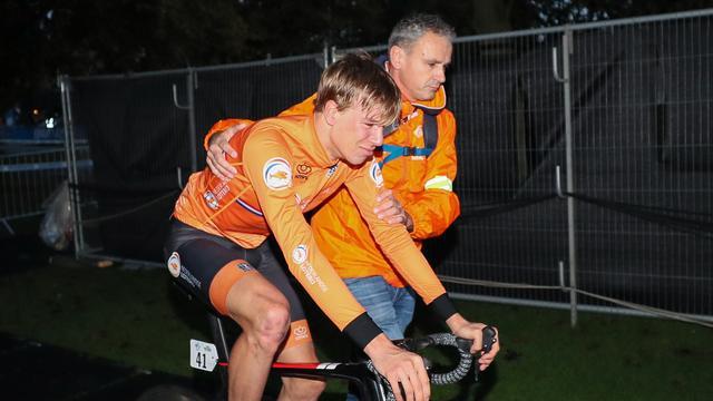 Eekhoff overweegt protest tegen diskwalificatie bij WK wielrennen
